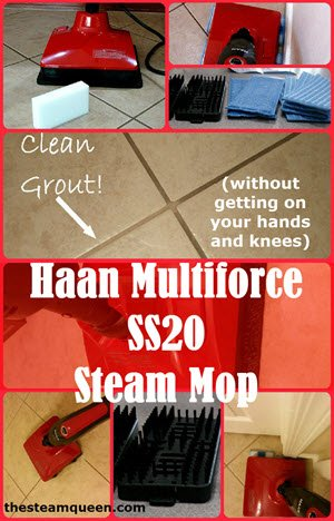 Haan Multiforce SS20 Steam Mop Review