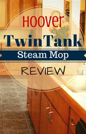 Hoover TwinTank Steam Mop Review