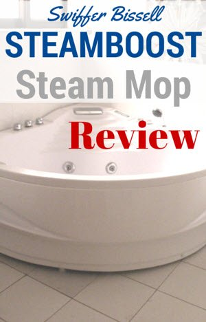 Swiffer Bissell Steamboost Steam Mop Review