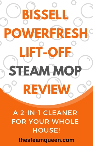 Bissell Powerfresh Lift Off 1544 Steam Mop Review The