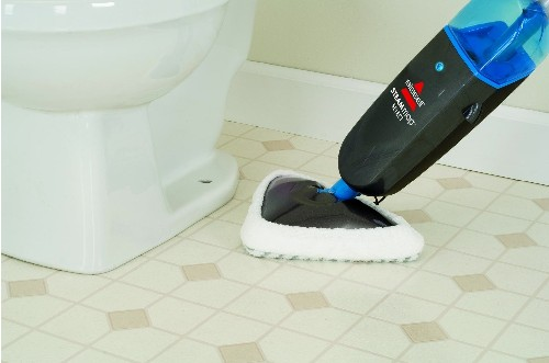 steam cleaner for bathroom tiles bissell steam mop select titanium 94e9t review the steam 24280