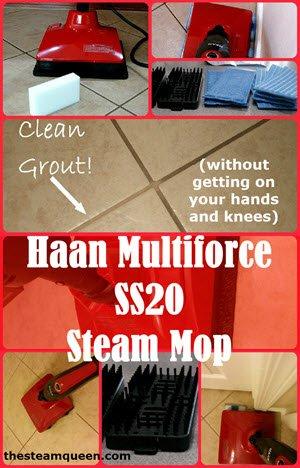Haan Multiforce SS20 Steam Mop Review