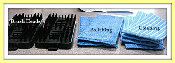 Haan SS20 Mop Pads and Brushes