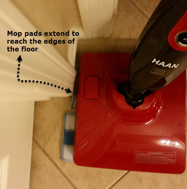 Mop Pads and Floor Edge